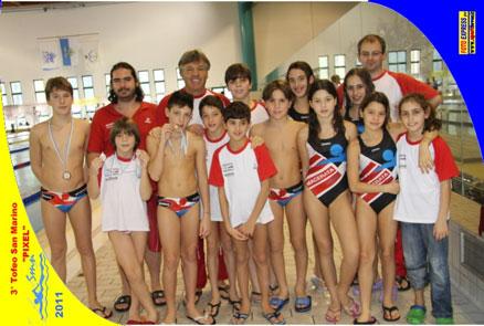 nuoto meeting San Marino 4 dic