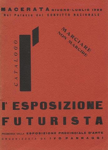 prima esposizione futurista Macerata
