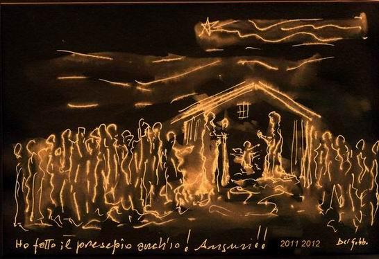 il Natale di Lucio Del Gobbo