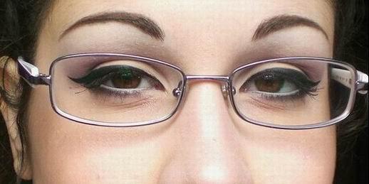 occhiali make-up
