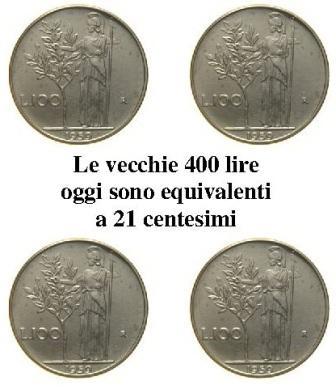 400 lire