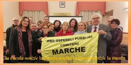 Comitato Pro Ospedali Pubblici Marche, con presidente Carlo Ruggeri