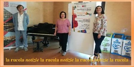 Conferenza stampa Attività scuola civica musica Scodanibbio