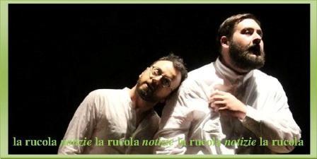 Jury Peretti e Luca Mitillo del Minimo Teatro