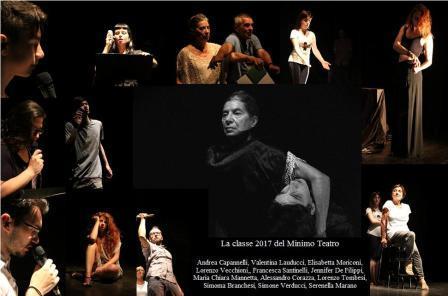 La classe 2017 del Minimo teatro