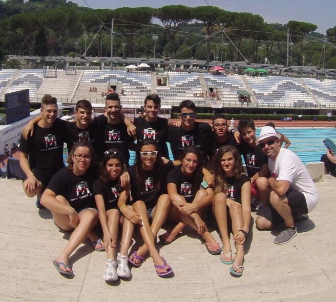 Macerata nuoto gli agonisti a Roma ai campionati italiani