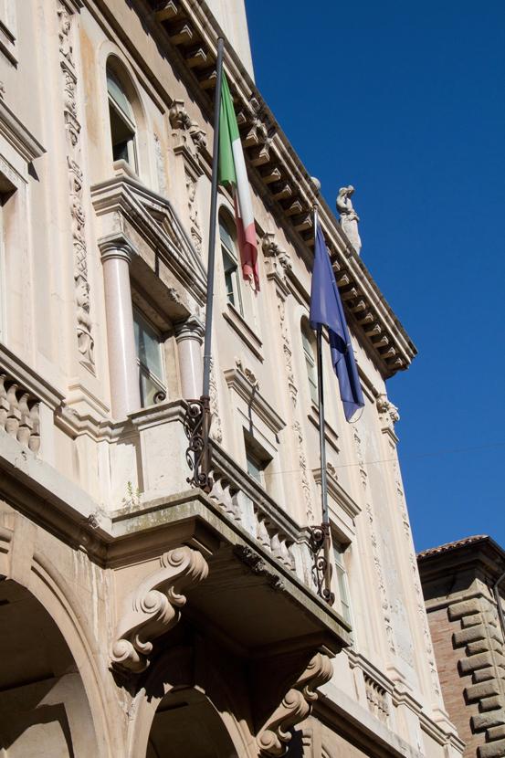 Palazzo degli Studi, particolare
