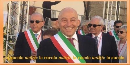 Sandro Sborgia nel corso della visita di Papa Francesco a Camerino