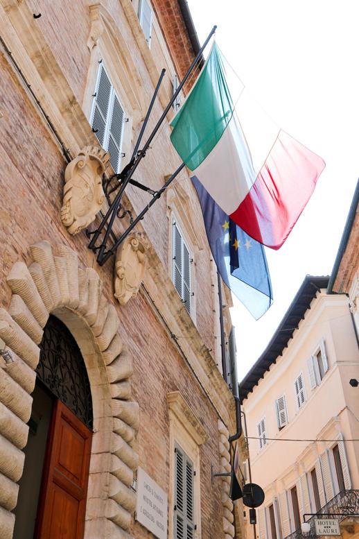 Via Tommaso Lauri, sede Camera di Commercio