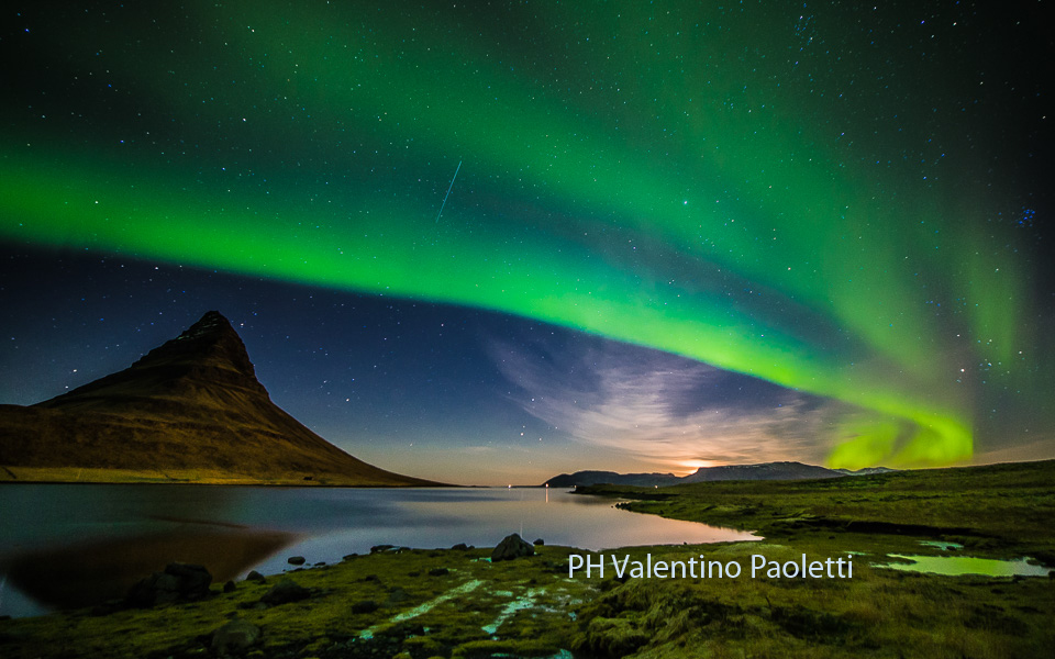 aurora boreale foto di Valentino Paoletti