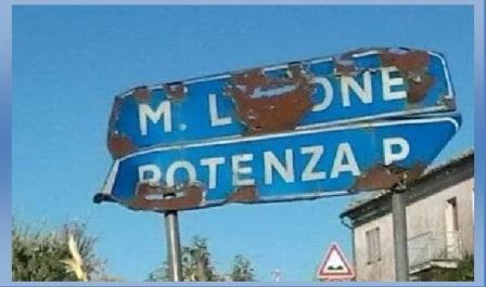 cartelli strada potentina