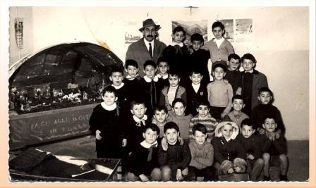 elementari con il maestro Mosè Pizzabiocca a corridonia