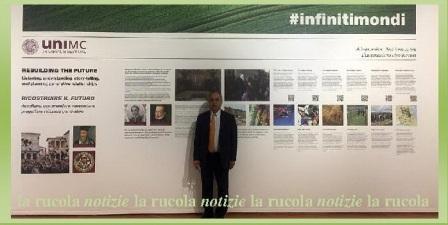 il rettore Francesco Adornato all istallazione UniMC Fabriano