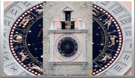 macerata orologio del 500 elaborazione su foto di Lucia Paciaroni