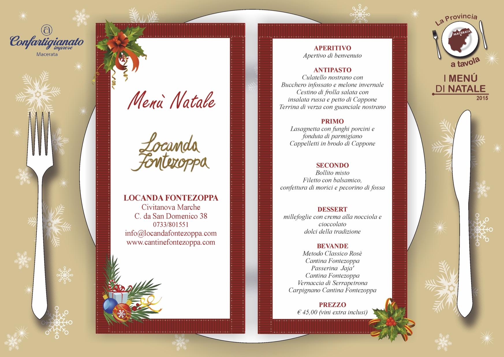 Consigli Per Menu Di Natale.La Provincia A Tavola Con I Menu Di Natale Associazione Culturale La Rucola