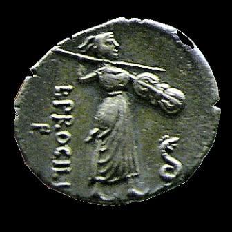 moneta Juno-Sospita con ancile