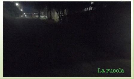 no luce da via d. rossi verso parco fontescodella