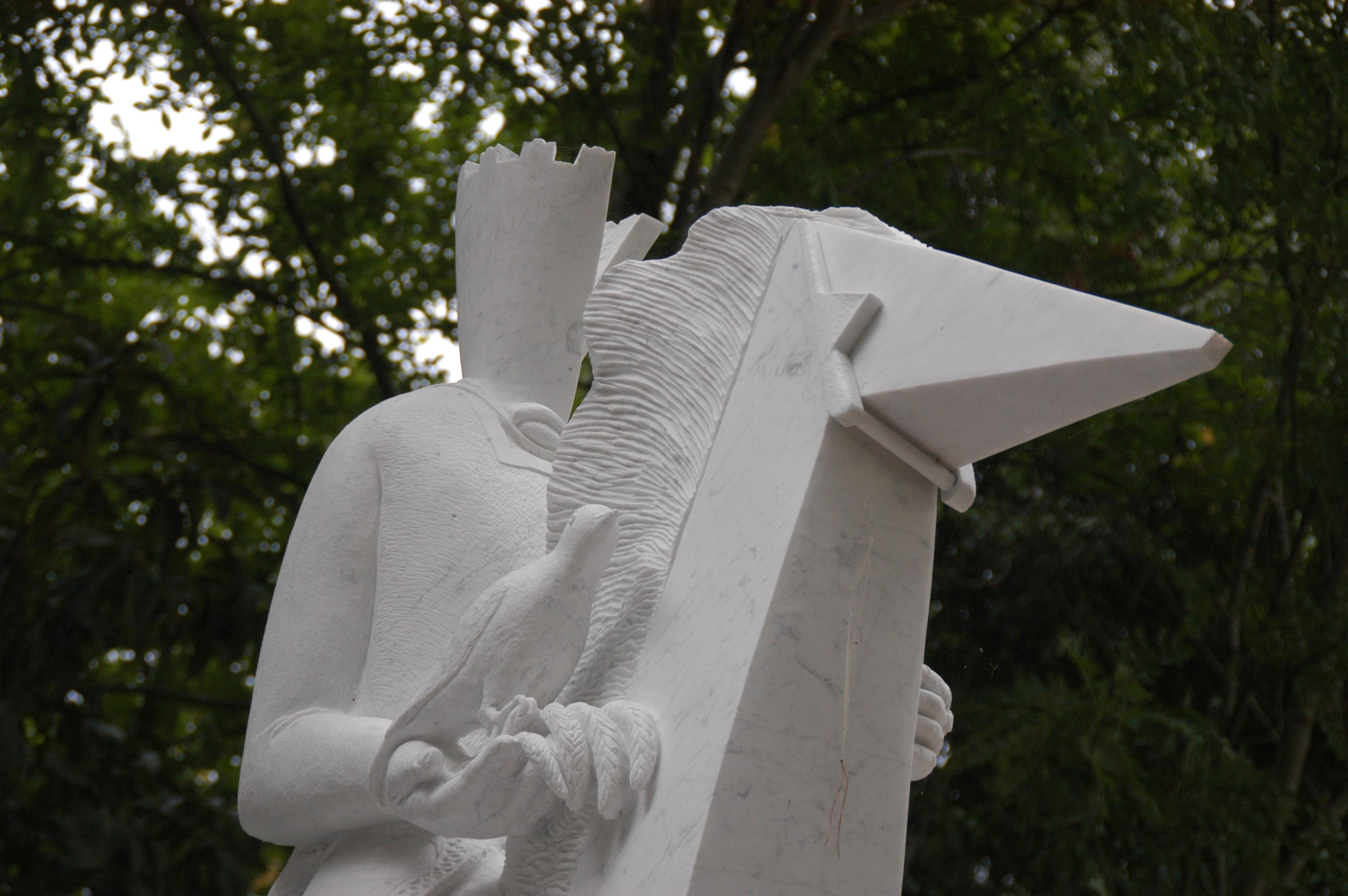 Carlo Magno e il picchio, simbolo piceno