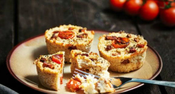 p 14 muffin salati con quinoa