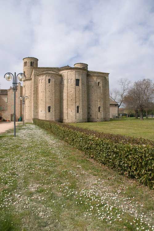 Abbazia San Claudio retro