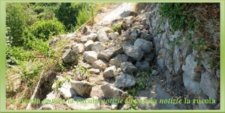 pietre crollate