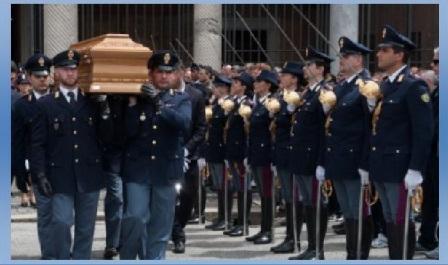polizia funerale solenne