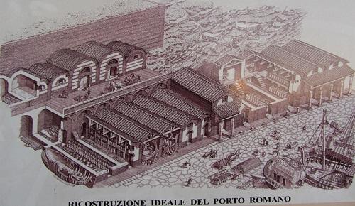ricostruzione-porto-romano-Ancona