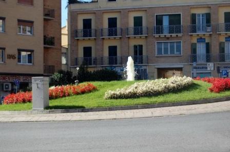 rotatoria piazza nazario sauro