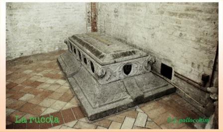 sarcofago sigismondo giustiniani bandini ph f.pallocchini