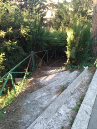 scalette sotto porta montana 1