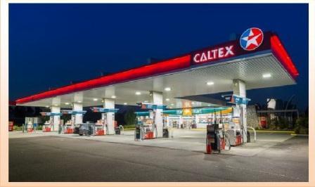 service station caltex