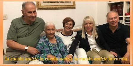 silvia bisonni in famiglia con il sindaco rosa piermattei