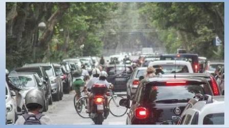 stress da traffico