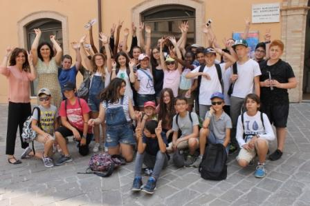 studenti Issi les Moulineaux a Macerata