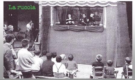 teatrino dei burattini a piazza garibaldi