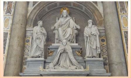 tomba papa Pio VIII in san pietro a roma