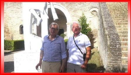 vittorio sgarbi con Alberto Morresi a s.claudio