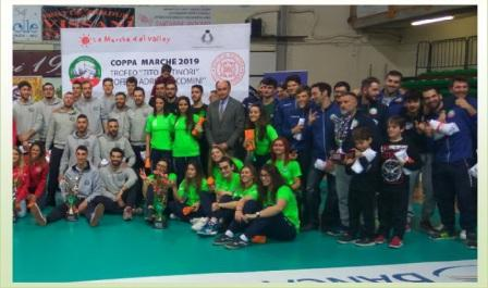 volley coppa marche