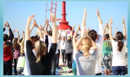 yoga al faro di civitanova